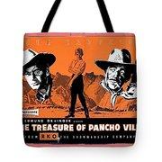 Pressbook The Treasure Of Pancho Villa 1955 Tote Bag