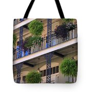 Pretty Balcony Tote Bag