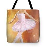 Pretty Ballerina Tote Bag by Lourry Legarde