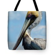 Pretty Blue Eyes Tote Bag