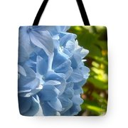 Pretty Blue Flower Tote Bag