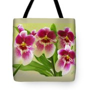 Pretty Faces - Orchid Tote Bag
