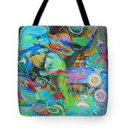 Pretty Flamingo Tote Bag