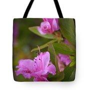 Pretty Fuschia Rhododendron Tote Bag
