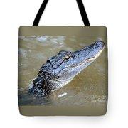 Pretty Gator Tote Bag