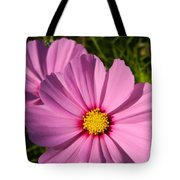 Pretty In Pink Cosmos Tote Bag