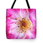 Pretty In Pink Rose Close Up Tote Bag