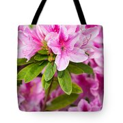 Pretty In Pink - Spring Flowers In Bloom. Tote Bag