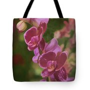 Pretty In Pink Water Color Effect Tote Bag