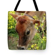Pretty Jersey Cow - Vertical Tote Bag