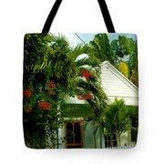 Pretty Key West Florida Tote Bag