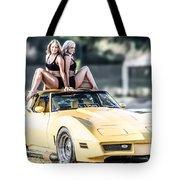 Pretty Ladies Tote Bag