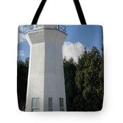 Pretty Lighthouse In Decatur Alabama  Tote Bag