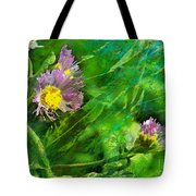 Pretty Little Weeds Photoart Tote Bag