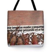 Pretty Lobsters Tote Bag