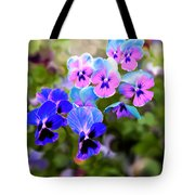 Pretty Pansies 2 Tote Bag