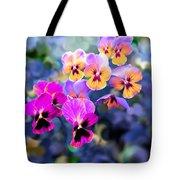 Pretty Pansies 3 Tote Bag