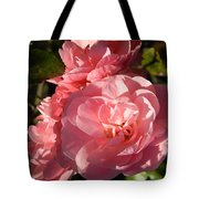 Pretty Pink Bunch Of Roses Tote Bag