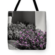 Pretty Pink Flowers Tote Bag