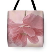 Pretty Pink Poppy Macro Tote Bag