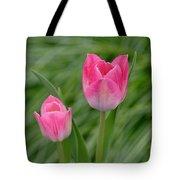 Pretty Pink Tulips Tote Bag
