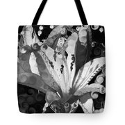 Pretty Pouting Pleasures A Black And White Painting Tote Bag