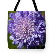 Pretty Purple Flower Tote Bag
