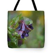 Pretty Purple Flowers In Ireland Tote Bag