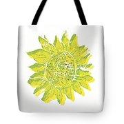 Pretty Sunflower  Tote Bag by Lynn-Marie Gildersleeve