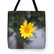 Pretty Yellow Flower Tote Bag