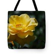 Pretty Yellow Rose Blossom Tote Bag