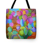 Prickly Pear Cactus-eye Candy Tote Bag