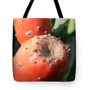 Prickly Pear Cactus Fruit - Indian Fig Tote Bag