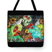 Prickly Pear Cactus And Friends, Southwestern Region Tote Bag