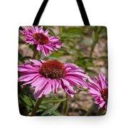 Primadonna Deep Rose Echinacea Tote Bag