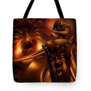Primal Beat Tote Bag