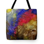 Primarily Abstract Tote Bag