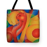 Primary Cats Tote Bag