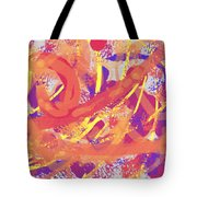 Primary Colours Tote Bag