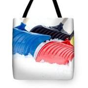 Primary Shovels Tote Bag