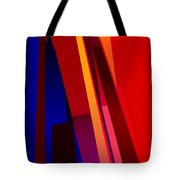 Primary Skyscrappers Tote Bag