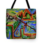 Primary Study I The Map Tote Bag