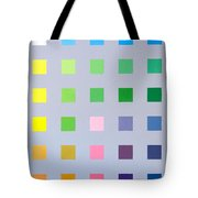 Primary To Tertiary Tote Bag