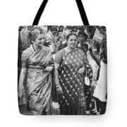 Prime Minister Indira Gandhi Tote Bag