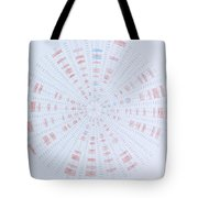 Prime Number Pattern P Mod 40 Tote Bag by Jason Padgett