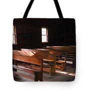 Primitive Church Tote Bag