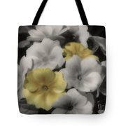 Primrose Flowers Tote Bag