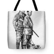 Prince Charles Hunting Tote Bag
