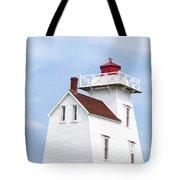 Prince Edward Island Lighthouse Tote Bag