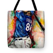 Prince Fielder Tote Bag
